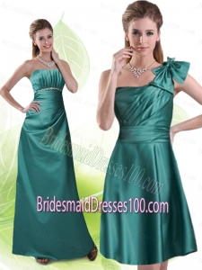 Strapless Column 2015 Discont Bridesmaid Dress Beading and Ruching