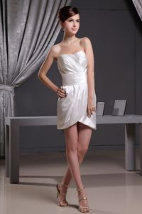 Simple Style Ivory Mini-length Dresses for Bridesmaid for 2013
