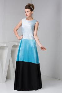 Cheap New Arrival Colorful Scoop Long Dresses for Bridesmaids